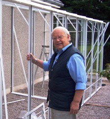 Jim McColl and his Robinsons Greenhouse